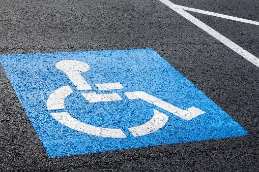 500057460 Blue handicapped parking spot.jpg