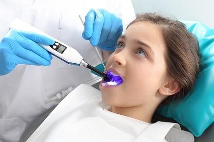 children's dental health month; encourage good habits