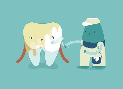 yellow teeth, why is my childs teeth yellow, tooth trauma, poor dental hygiene, fluorosis, dental care for children, dental insurance